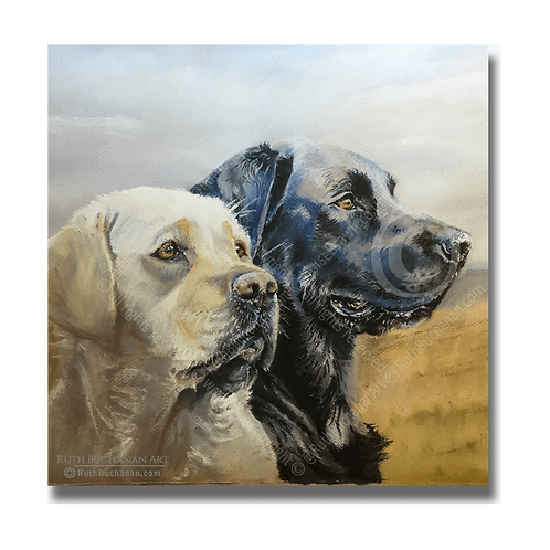 Lookouts - Square Greetings Card
