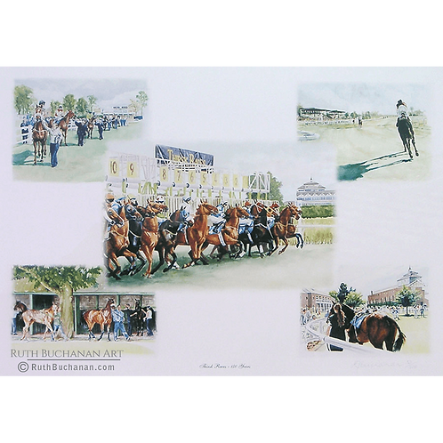 Thirsk Races - Limited Edition Print of 500