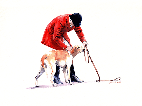 Lead Time - Original pen and watercolour painting on board