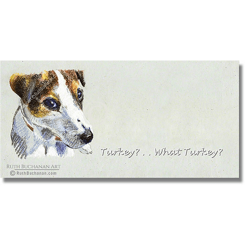 Talk Turkey - DL Greetings Card