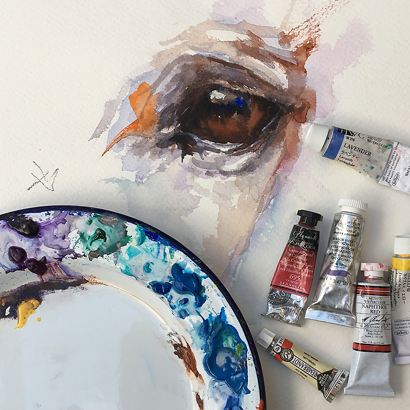 Taster Session - £15. Simple Watercolour Painting with Ruth Buchanan.