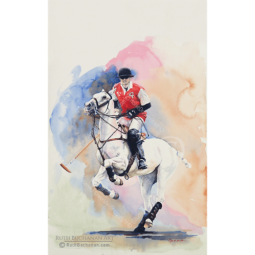 Conquistador - Limited Edition Print of 150