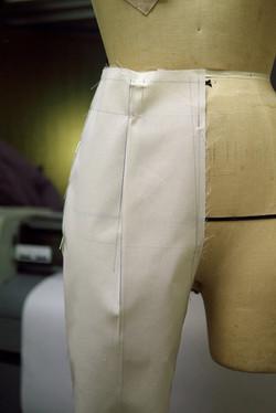 パンツのトワル