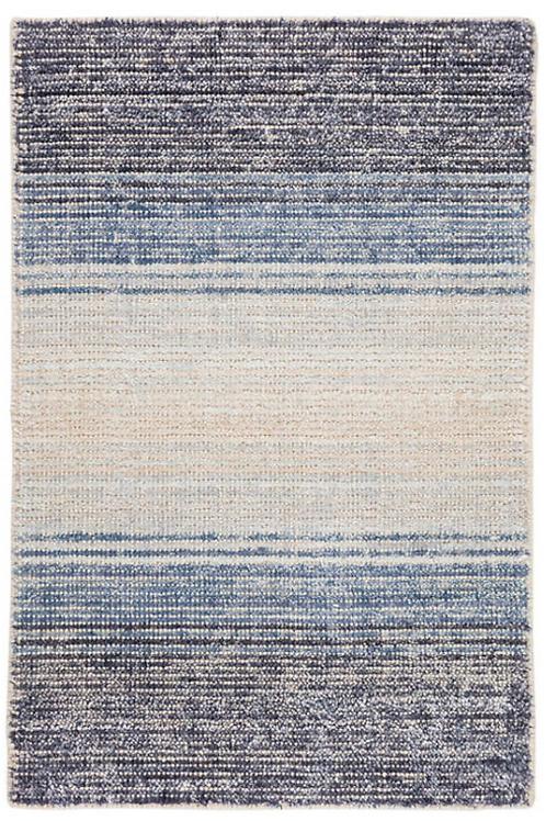 Blue Cotton/Viscose 2x3
