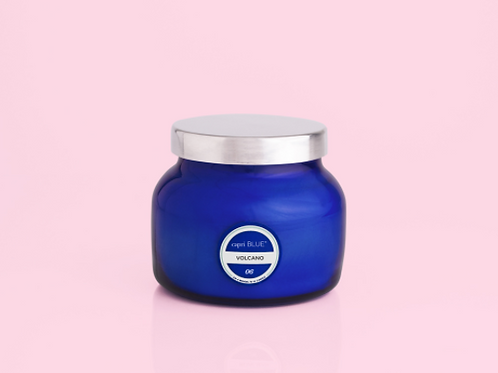Volcano Blue Petite Jar, 8 oz