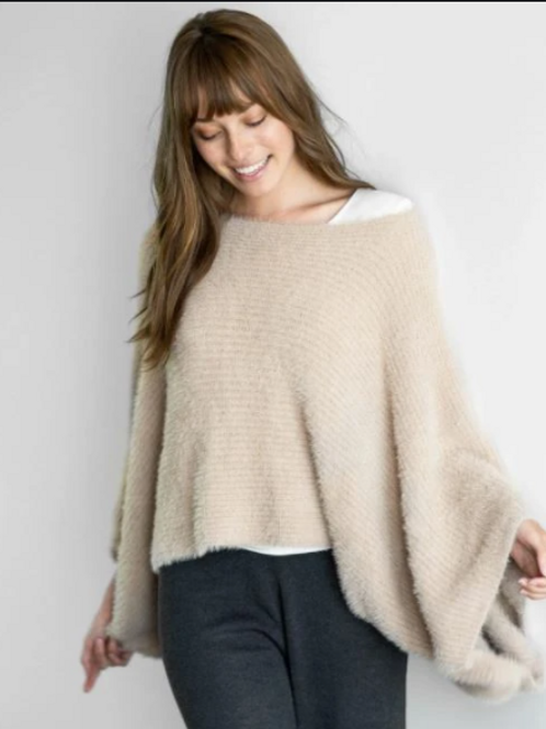 Chalet Slouch Sweater - Latte