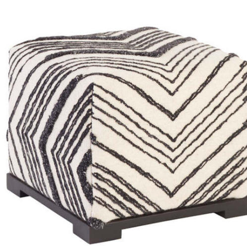 Upholstered Rug Bench