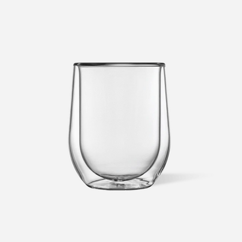 Glass Stemless - Clear 2 pk
