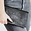 Thumbnail: Black Embossed Foldover Clutch
