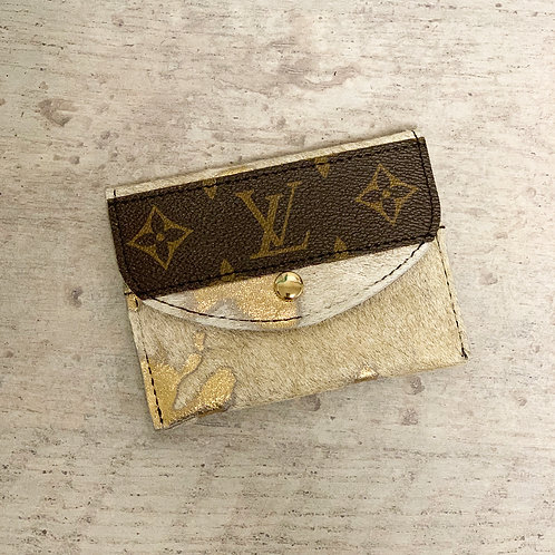 Custom Louis Vitton Bitty Wallet