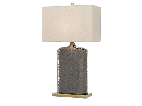 Rustic Metallic Bronze Lamp