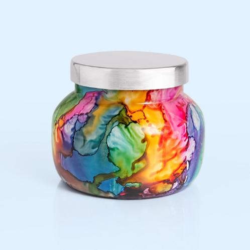 Volcano Rainbow Watercolor Petite Jar