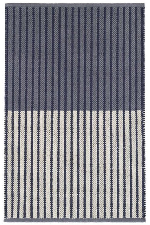 Navy Cotton 2x3 Rug