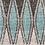 Thumbnail: Aqua & Grey Indoor/Outdoor Round Rug