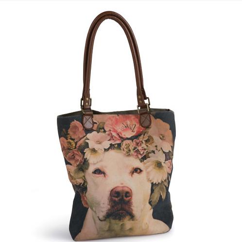Dog Charity Bag White