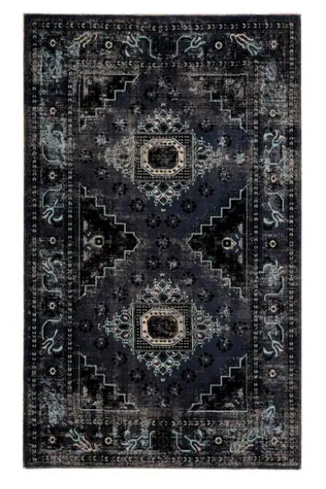 Blue Tone Indoor/Outdoor 2x3 Rug