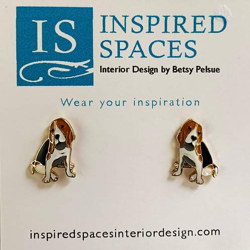 Hound Stud Earrings