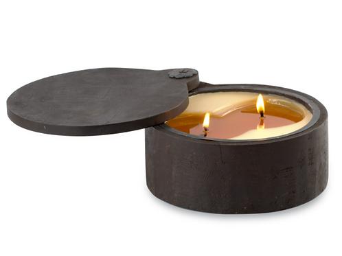 Evergreen Wooden Spice Pot