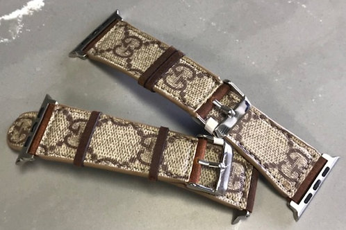 Upcycled Gucci Apple Watch Band 42mm