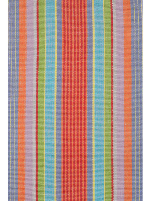 Garden Stripe Cotton Rug 2x3