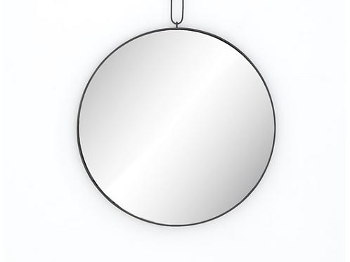 Antique Iron Pendant Mirror
