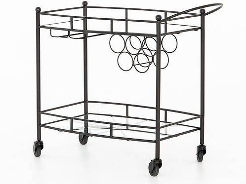Gunmetal Bar Cart