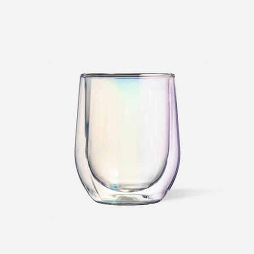 Glass Stemless - Prism 2 pk
