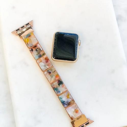 Acrylic Stretch Smart Watch Band - Multi