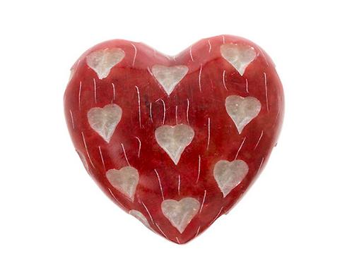 Soapstone Heart - Sm