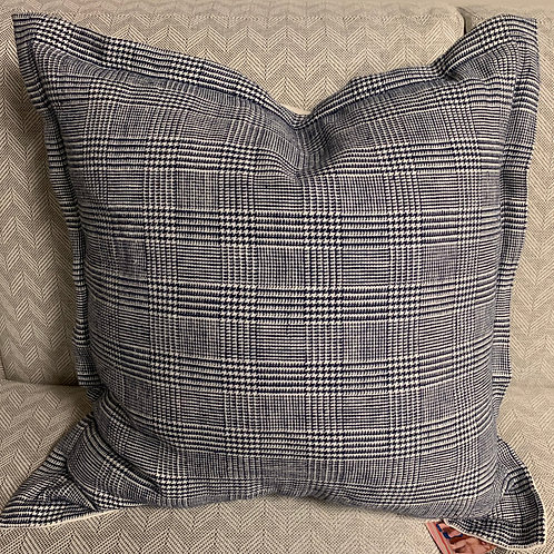 Navy Decorative Pillow 22x22