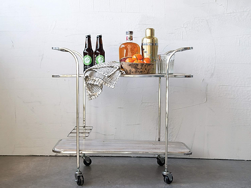 Mango Wood Bar Cart