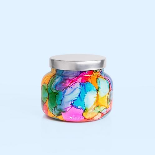 Volcano Rainbow Watercolor Signature Jar