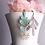 Thumbnail: Virdigris Moon Flower Earrings