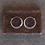 Thumbnail: Silver Hoop Earrings