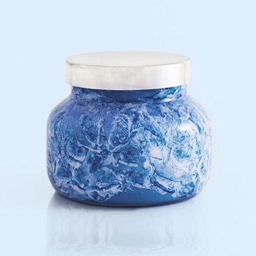 Blue Jean Watercolor Petite Jar