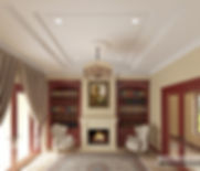 Residential interior 3D visualization