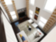 Family room interior design by Kiev Design Online Studio