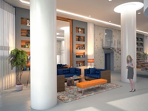 Commercial Interior 3D visualization