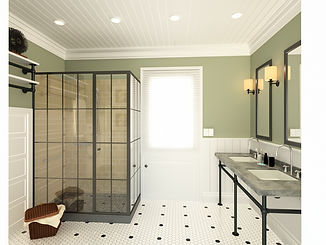 bathroom interior design remotly