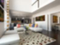 Living room interior design online by Kiev Design Online Studio