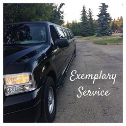 Black Gold limousine Exemplary Service