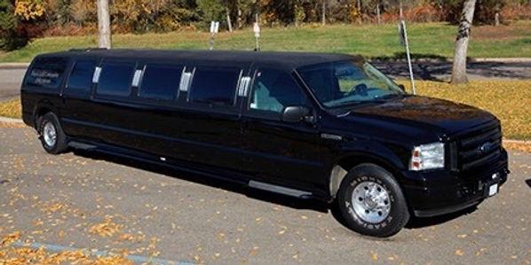 A black Ford excursion in Edmonton