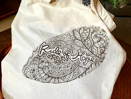 Art with heart - Tote Bag