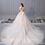 Thumbnail: French 2019 new light wedding dress long tail luxury dream