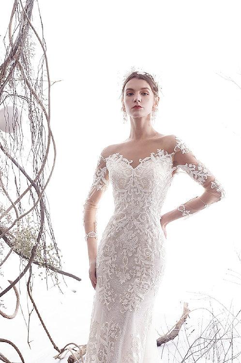 2019 new princess dream wedding dress