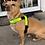 Thumbnail: Eftersök / Spår sele med reflex för liten hund (3cm bred)