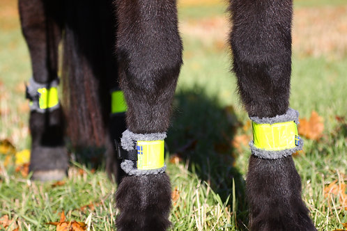 Benreflexer för häst, teddy foder (par-2st)