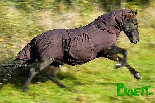 Eksem täcke storlek 4 .     D-Ponny, stor islandshäst