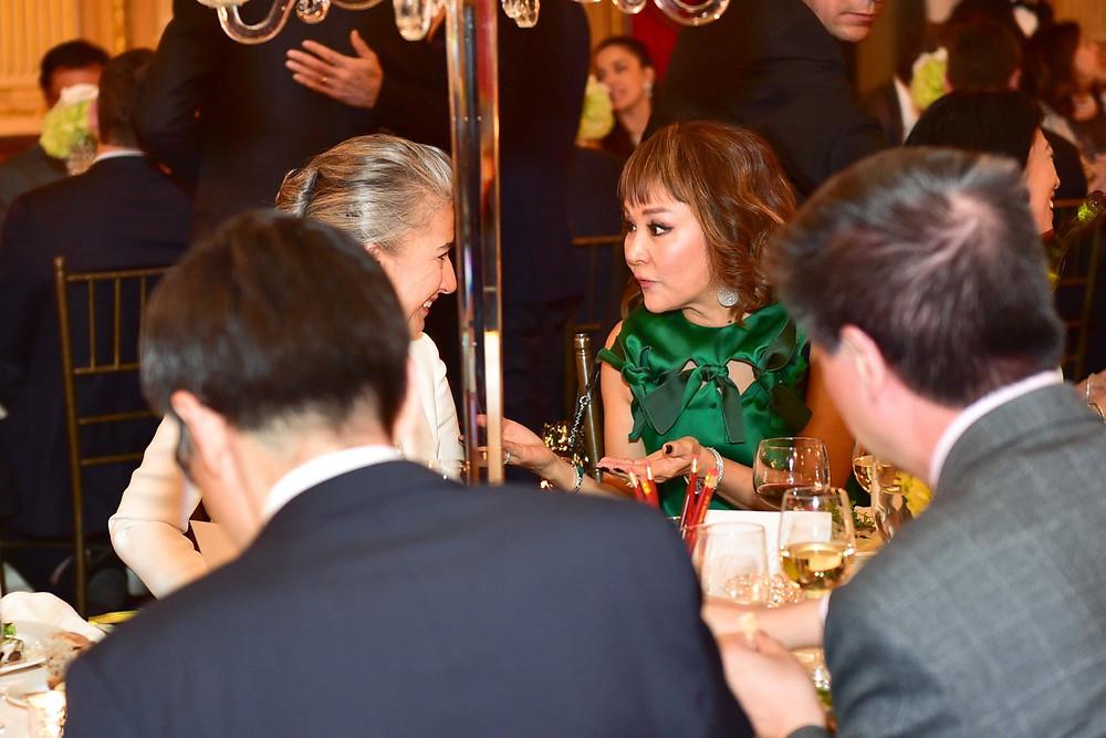 Deirdre Major and Priscilla Ahn