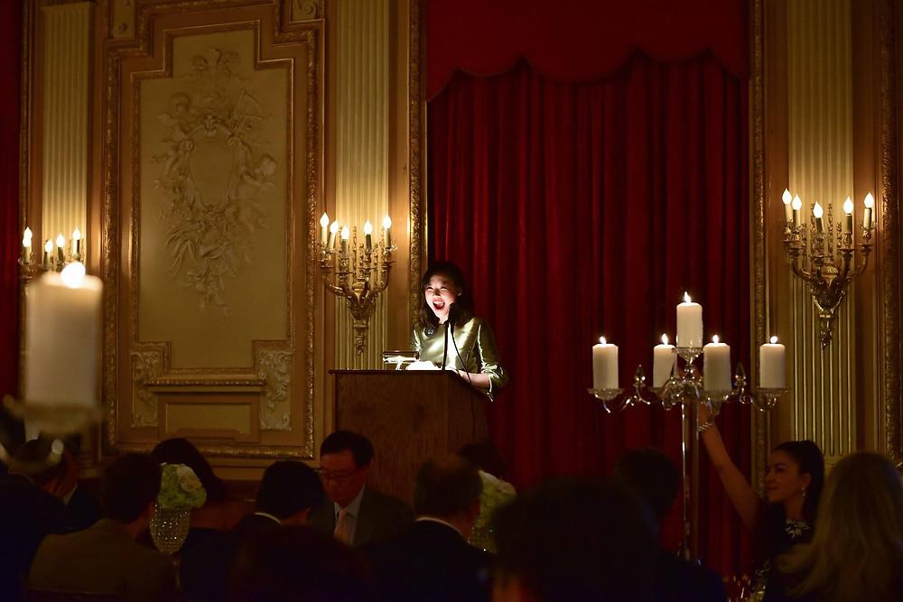 JAJF Director Presca Ahn's opening remarks